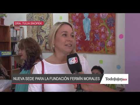 Fund. Fermín Morales inauguró nueva sede