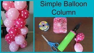 Basit Bir Balon Sütun Yapmak için nasıl