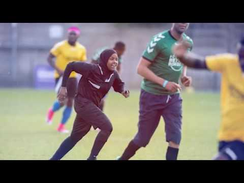 A Muslim African Immigrant Woman refereeing in the UK? The story of Jawahir 'JJ' Roble -