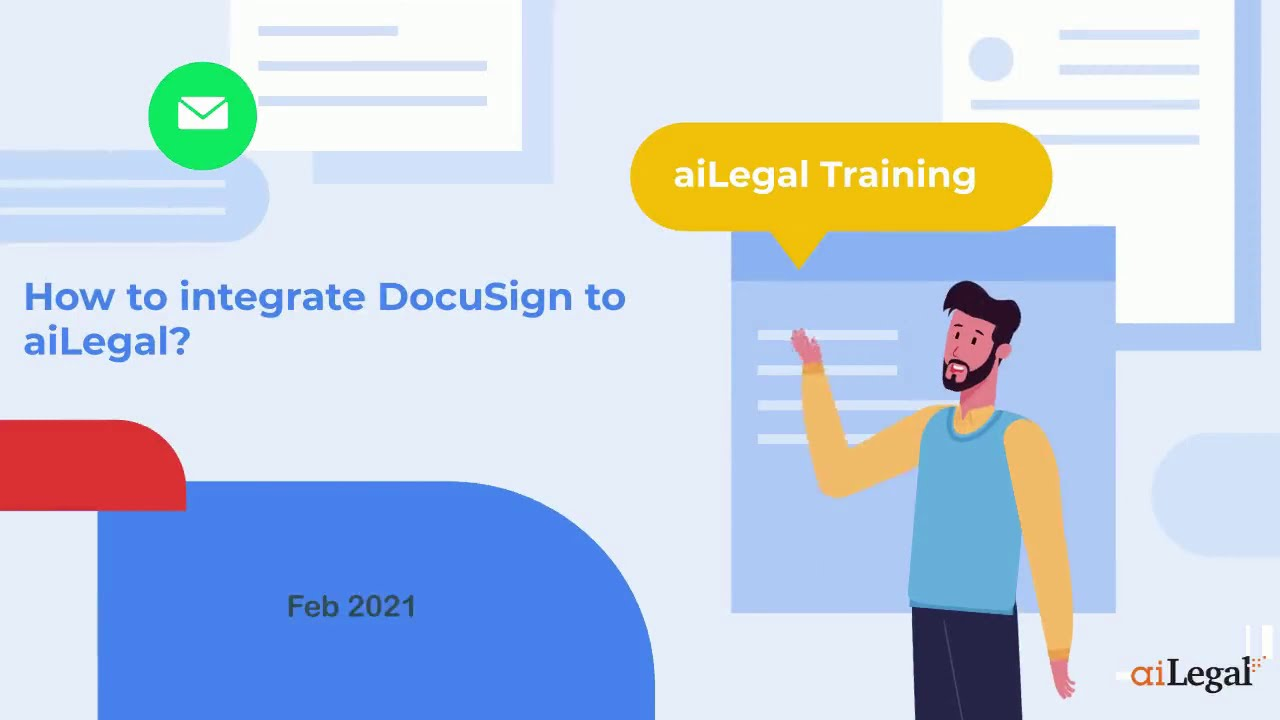 How to connect your DocuSign accounts to aiLegal for automation?