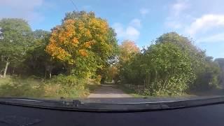 Hylses Blekingeturné - Kuggeboda - Badplatsen (Listerby - Ronneby) -171005 - GoPro 5 (Mazda 3)
