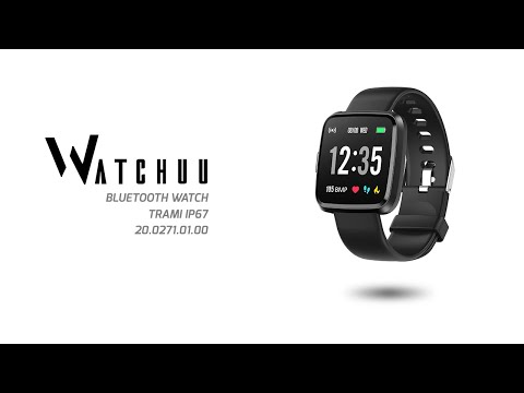 Watchuu Trami Bluetooth watch black 20.0271 from YouTube · Duration:  1 minutes 18 seconds