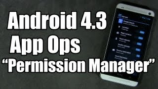 """Access Android 4.3 """"App Ops"""" with Permission Manager screenshot 1"""