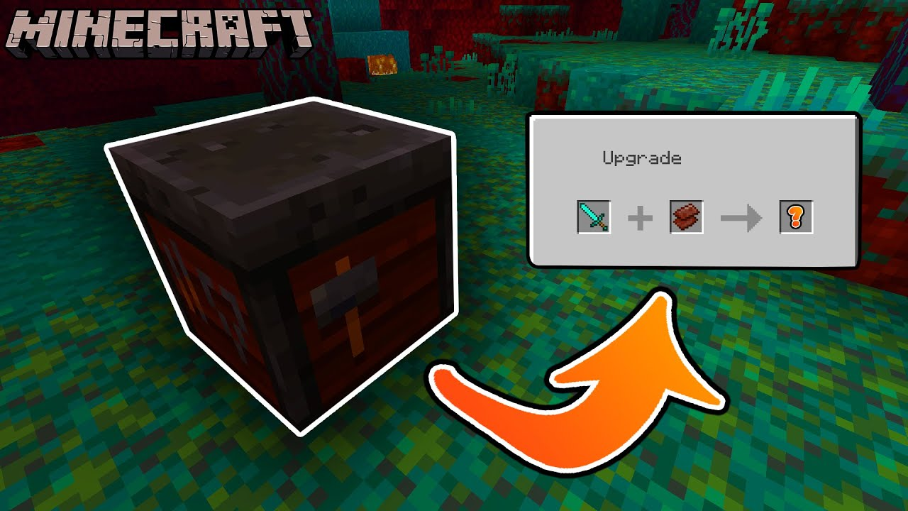The Smithing Table's New Function - Minecraft 1.16 ...