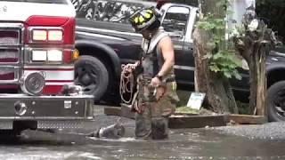 Long Island: Hampton Bays Flooding