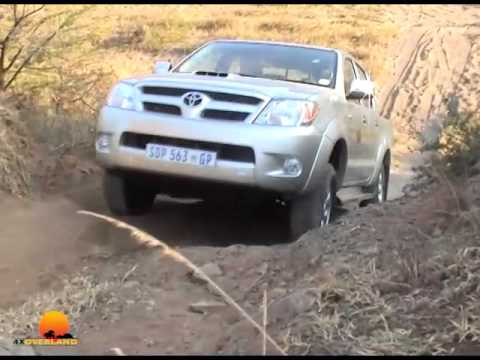 Axle twisters, the effect of steering, Hilux test, multiple recovery. 4WD1, Ep7