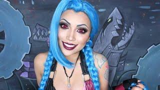 League of Legends : JINX Makeup Tutorial !!!