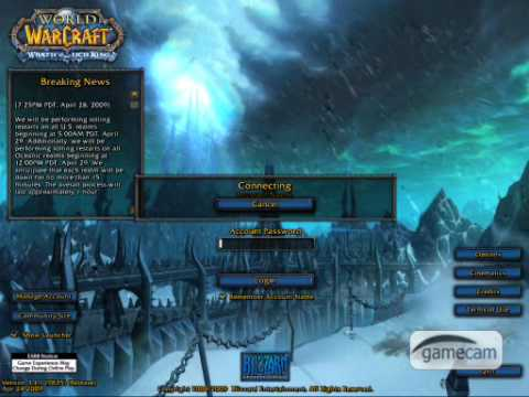 World Of Warcraft Stuck At Authenticating