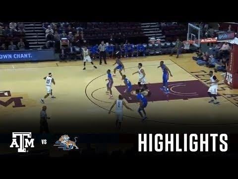 Men's Basketball Highlights   Texas A&M vs. Savannah State