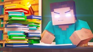 Monster School - HEROBRINE IS THE TEACHER?! (Minecraft Roleplay) #1