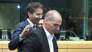 وزراء مالية مجموعة اليورو مستمرون بمناقشة مسألة الديون اليونانية   25-6-2015