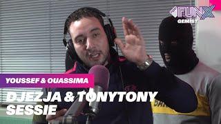 DJEZJA & TONYTONY SESSIE BIJ YOUSSEF EN OUASSIMA