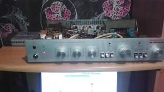 Усилитель Романтика 15-120 С Hi Fi (после ремонта)