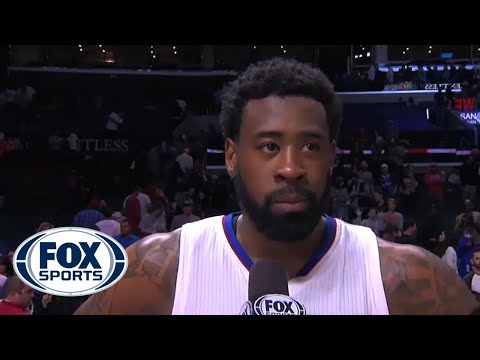 Clippers DeAndre Jordan distracted by Tupac, fails postgame interview