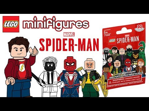 Spider Man Ps4 Lego Collectable Minifigure Series Youtube