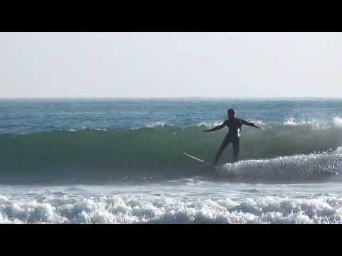 Jake Davis - Single Fin, No Leash, Legburner Training at Rincon
