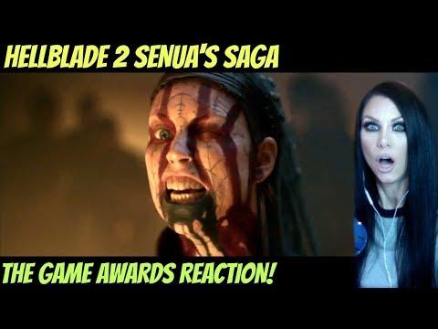 HELLBLADE 2 SENUA'S SAGA – OFFICIAL REVEAL TRAILER REACTION – THE GAME AWARDS 2019