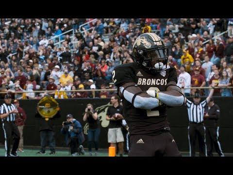 WMU Football Vs CMU Stylized Highlights