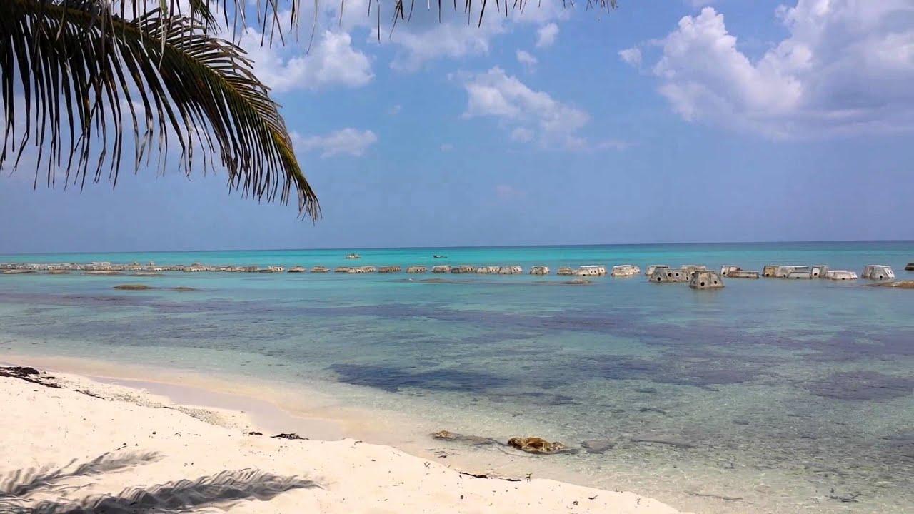 El Dorado Casitas Royale beach and reef - YouTube