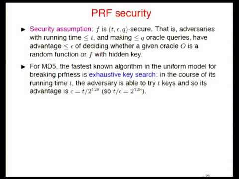 Another Look at Provable Security.