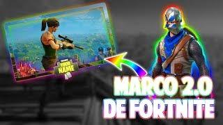 COMO HACER MARCO 2.0 DE FORNITE EN ANDROID!!!