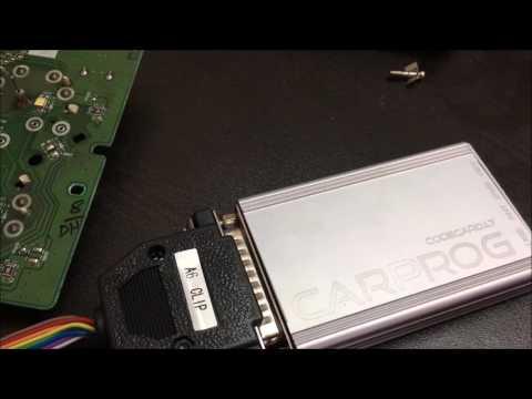 Airbag Crash Data Restore Carprog ECM repairing Training