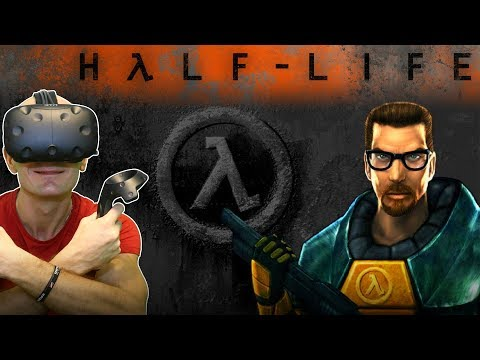 PLAY HALF LIFE IN VIRTUAL REALITY!   Half Life VR MOD (Alpha) Gameplay on HTC Vive