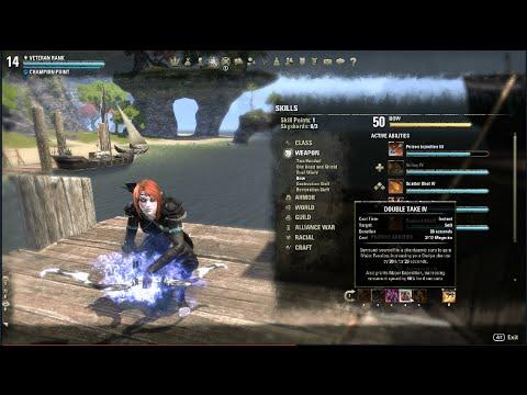 Eso Nightblade Dual Wield Build  Leveling