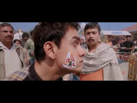 Best Comedy Sence oF Amir Khan||Movie:pk (Part 1)