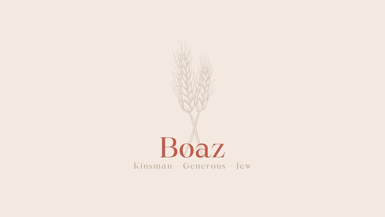 'Boaz' with Thana Shanmugam | Book of Ruth - Part 5 | 6.6.21