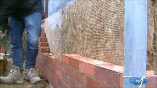 the fine art of brickwork - Porch (1 of 3) Cavity Wall