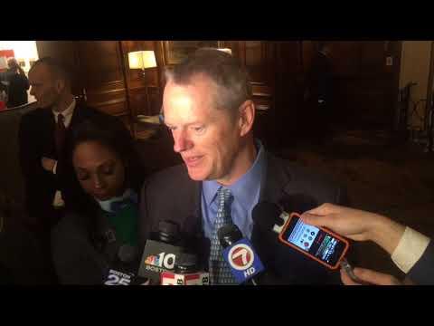 Massachusetts Gov. Charlie Baker defends decision to skip fundraiser with VP Mike Pence