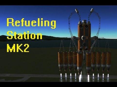 KSP - Refueling Station MK2