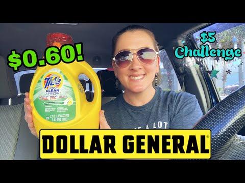 Dollar General $5 Challenge! 10/25-31/2020 I All Digital Deals! I 11 Items For $0.60 Each!