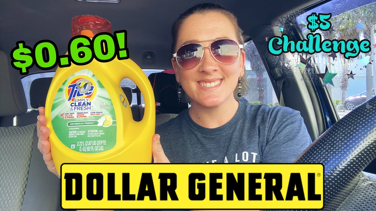 Dollar General $5 Challenge! I 10/25-31/2020 I Get 11 item for $0.60 each!