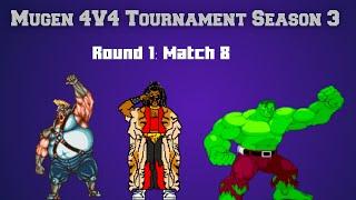 4v4 Tour. Season 3: The United Forces Vs. Team K' (Round 1)