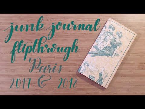 Flip Through | Travel Junk Journal (Paris)