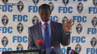 FDC presidential flag-bearer race to end next week on Tuesday