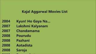 Kajal Aggarwal Movies List