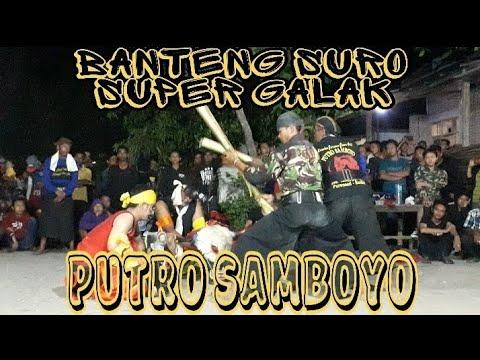 Banteng Suro Mberoot Full Sruuuiiit Vs Prabu Simo Kumbang   PUTRO SAMBOYO Live Sidokaton Kudu 2019