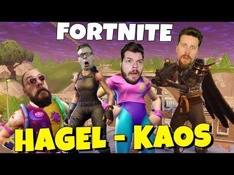 HAGEL-KAOS I FORTNITE med SoftisFFS & Polski