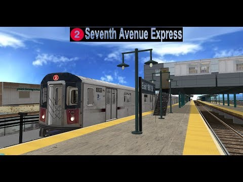 OpenBVE Special: 2017 IRT 7th Avenue Line Ride from Flatbush to 241st Street