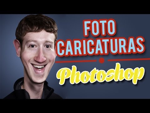 Tutorial Photoshop - Caricatura Desde Una Foto