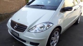 mercedes benz a170 2007 only 42 000 klms since new