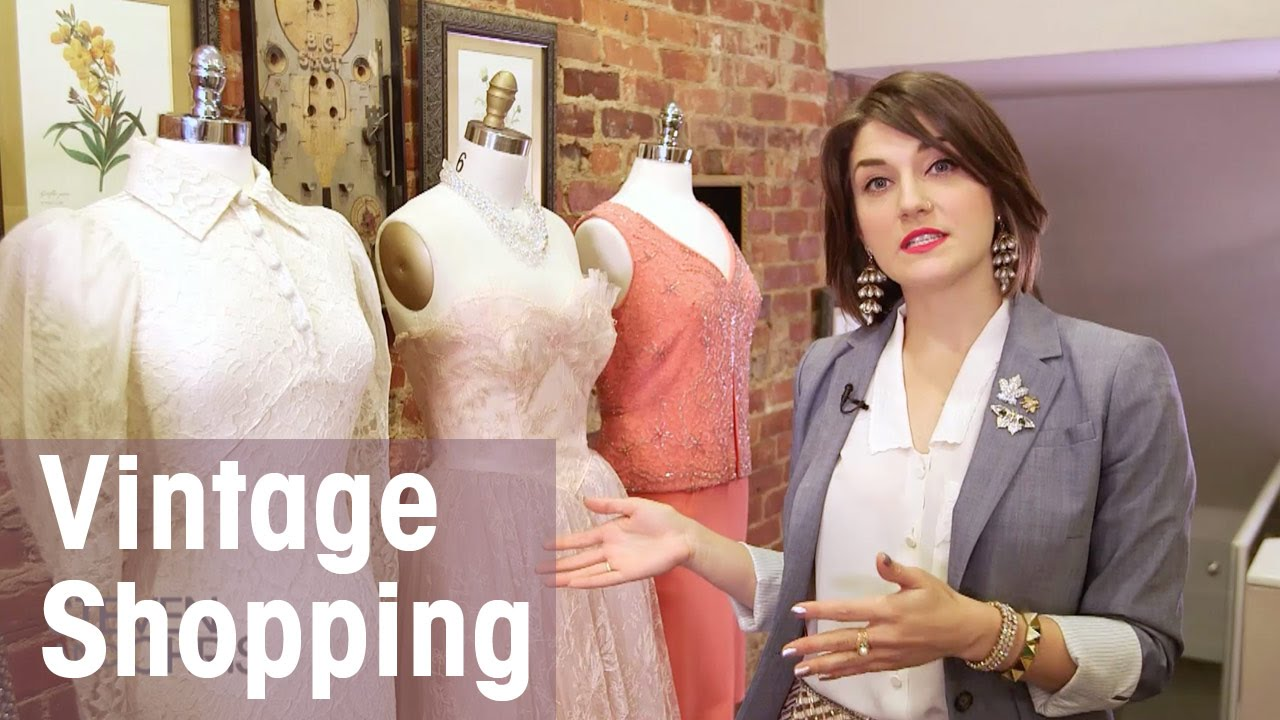 Buying Vintage Clothing