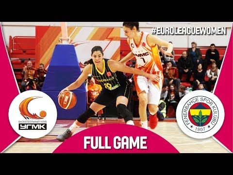 UMMC Ekaterinburg (RUS) v Fenerbahce (TUR) - Full Game - EuroLeague Women 2017-18