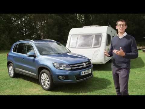 Practical Caravan reviews the VW Tiguan