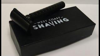West Coast Shaving Midnight Series Open Comb Razor