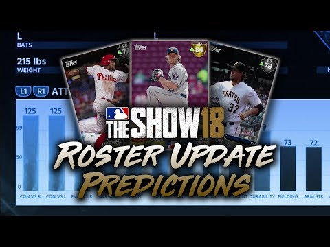 May 24th Roster Update Predictions! MLB The Show 18 Diamond Dynasty