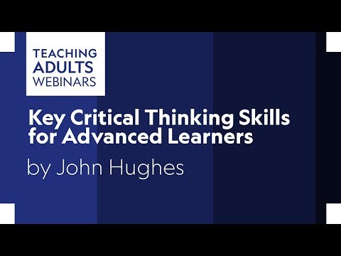 Key Critical Thinking Skills For Advanced Learners